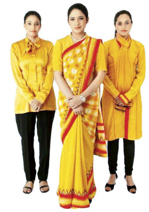 air india new uniforms