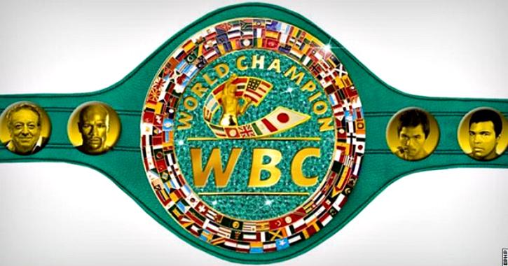 WBC new welterwight belt