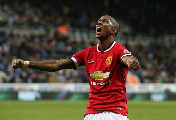 Ashley Young  manchester derby