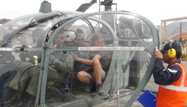 IAF ladakh rescue