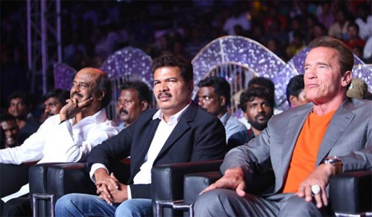 Arnold and Rajinikanth