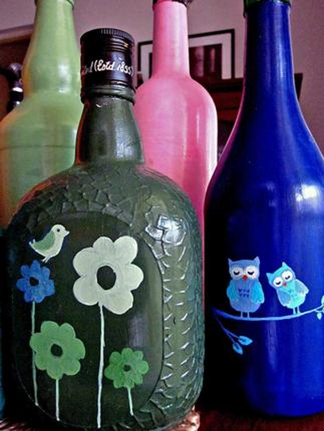 old monk bottle