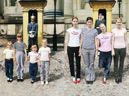 Sisters recreated childhood