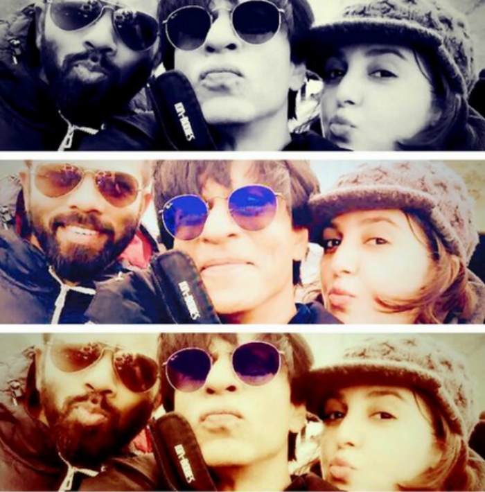 SRK and Farah Khan