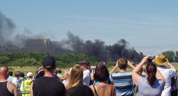 UK airshow plane crash