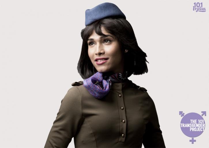 Air hostess transgender