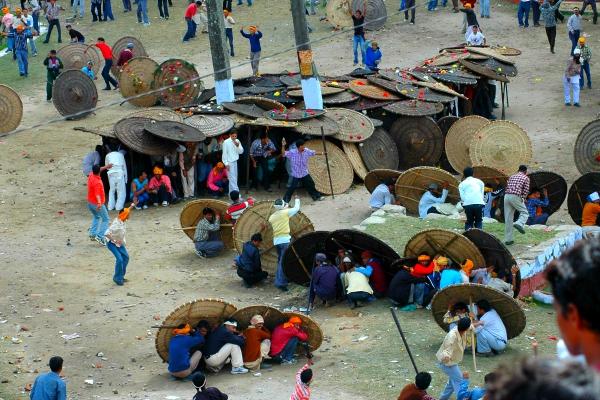 stone pelting festival