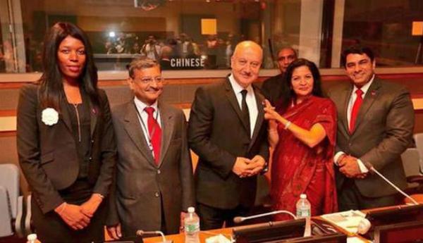 Anupam Kher UN