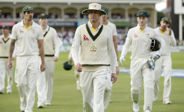 Australian team sad