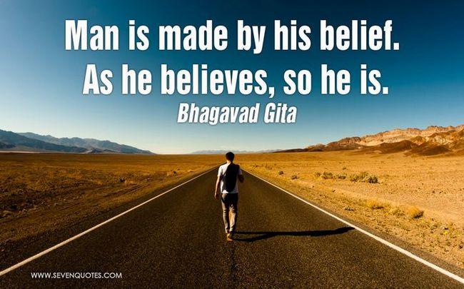 Bhagavad Gita Quotes on Belief