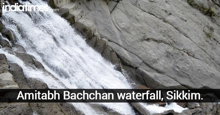 Amitabh Bachchan waterfall