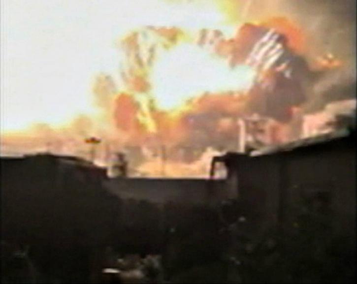 Original explosion