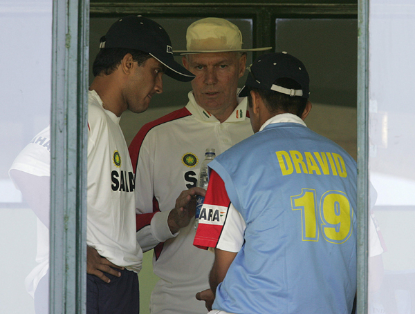 Chappell Dravid Ganguly