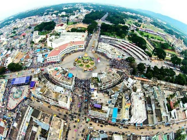 Cityview of Mysore