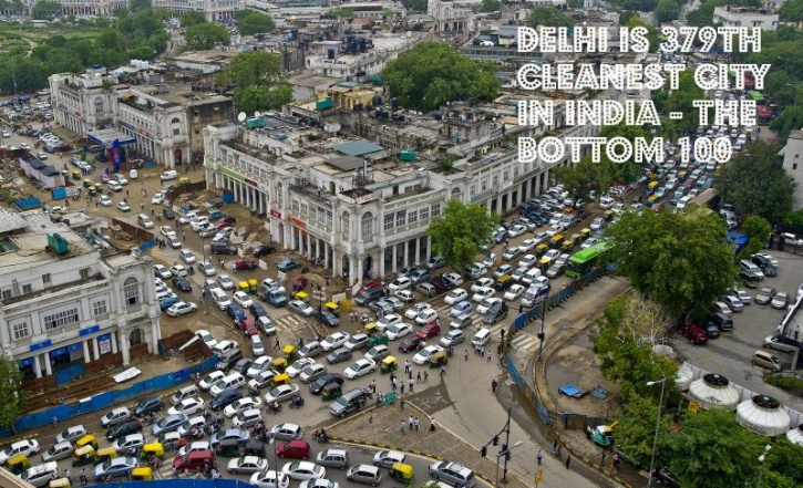 Delhi Dirtiest City In India