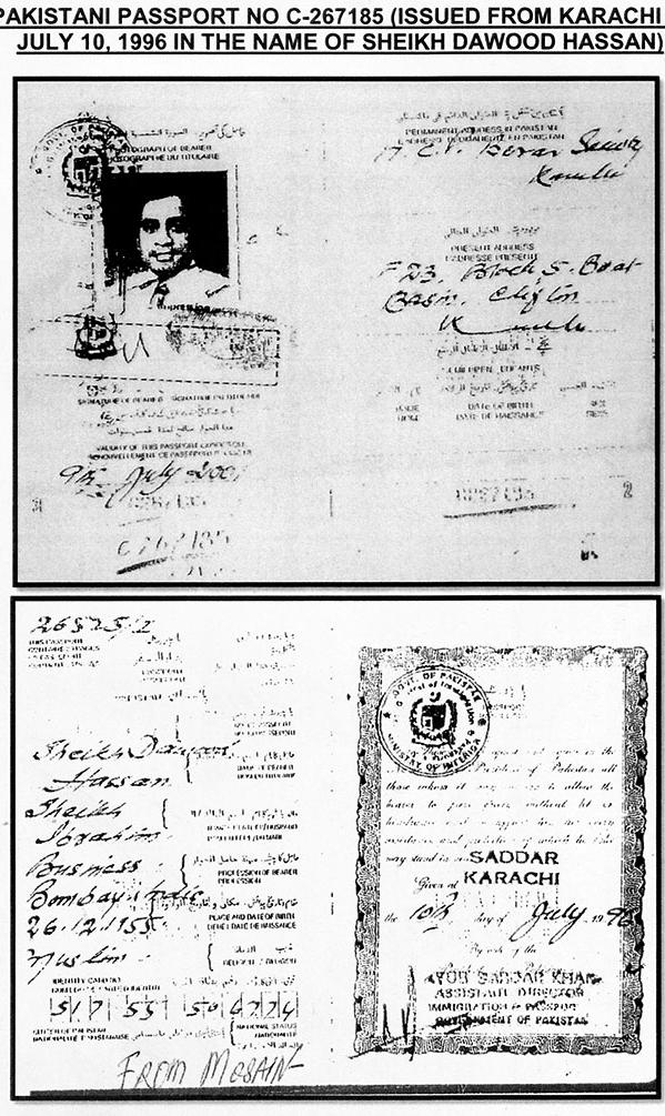 Dawoo Ibrahim passport
