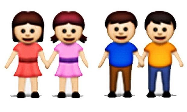 Same-sex emojis