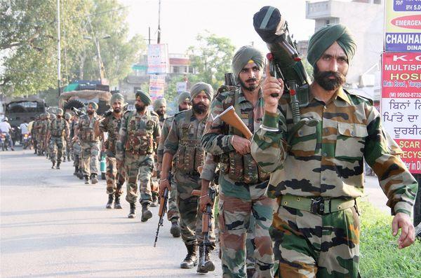 Gurdaspur army attack