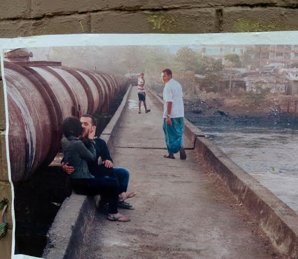 kissing mumbai posters