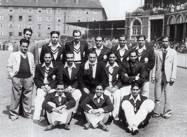 Pre-Independence India cricket team in 1946