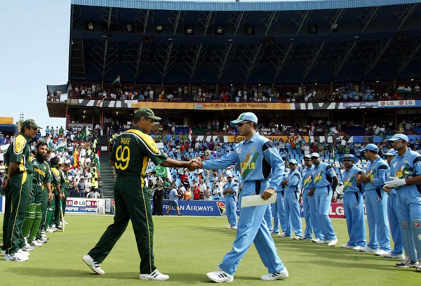 India vs Pakistan in the 2003 Cricket World Cup