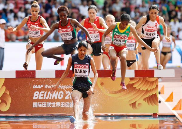 Lalita Babar at 2015 Worlds