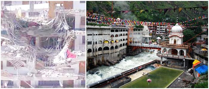 Landslide Hits Manikaran Sahib Gurudwara In Himachal, 10 Dead, Several Still Trapped Inside
