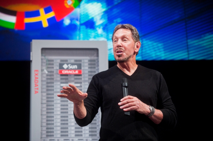 when Larry Ellison was still CEO of Oracle, the company spent $1.5 million on security for him.