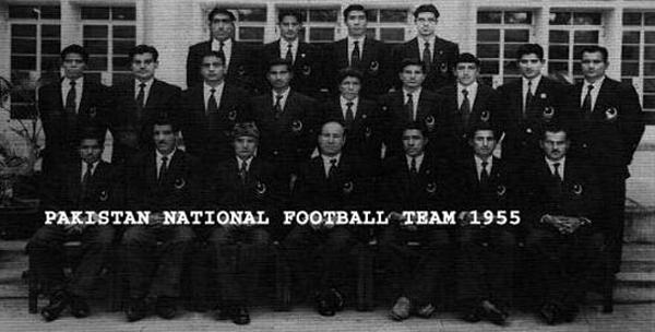 Pakistan football team (1955)
