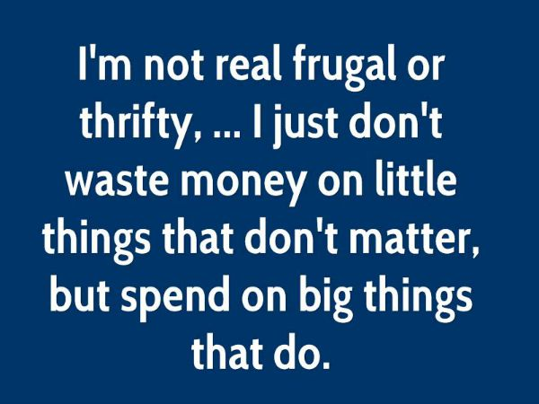 not money