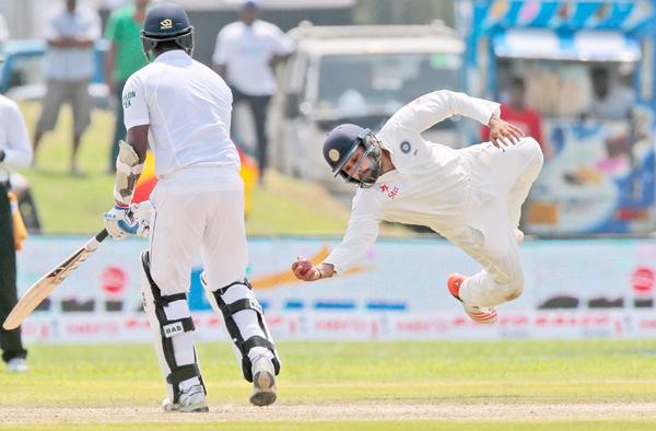 Rohit Sharma's catch at short leg