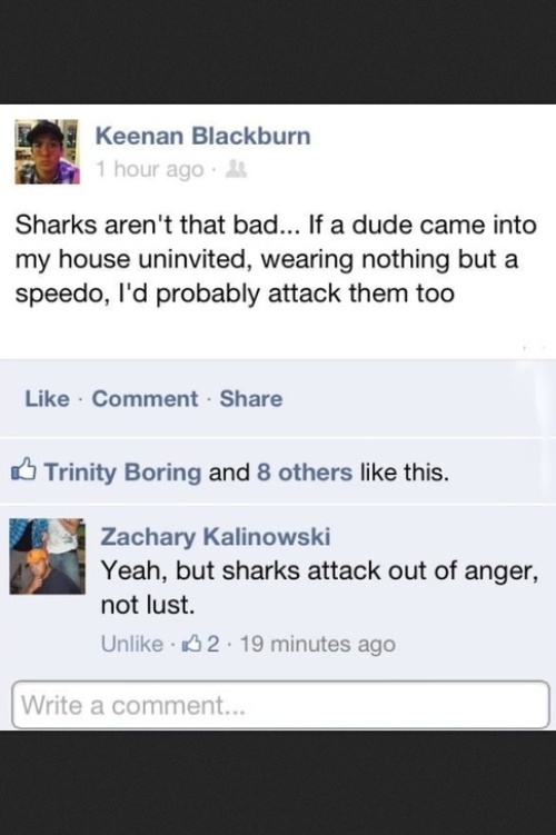 Funny Facebook Comments
