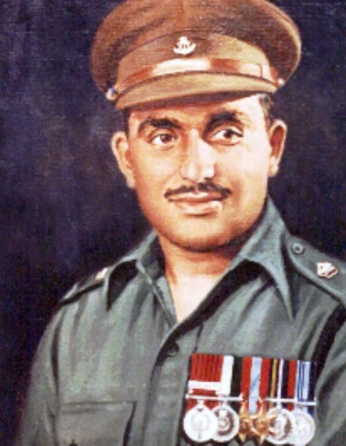 Maj. Somnath Sharma First Param Vir Chakra Awardee