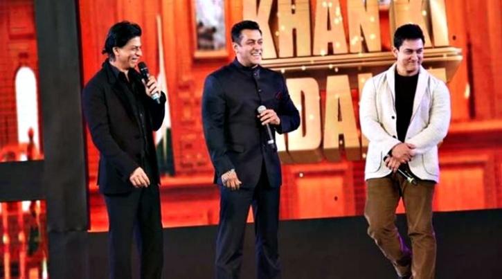 Shahrukh, Salman,Aamir