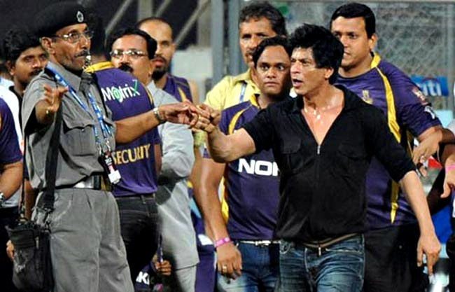 Khan was banned from entering the Wankhede in May 2012 for five years after a scuffle and heated altercation with a security guard