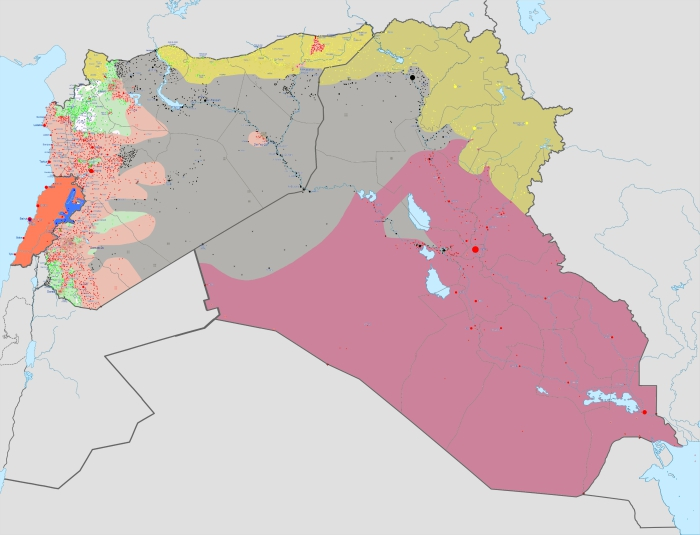 present span of ISIS