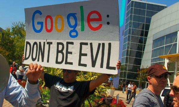 google net neutrality evil