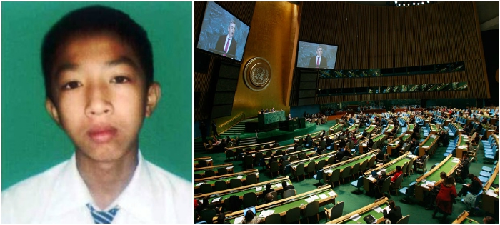 This 14-Year-Old Manipuri Boy Will Soon Address The UN General Assembly