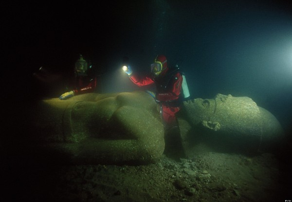 Underwater Pyramids
