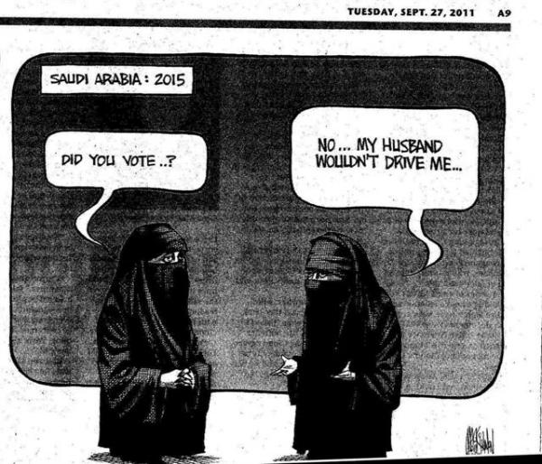 saudi voting women