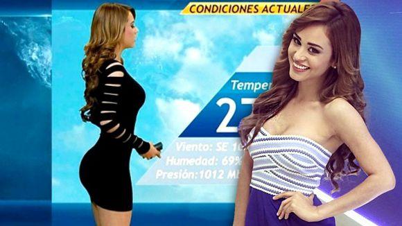 Yanet Garcia, Mexican Weatherwoman