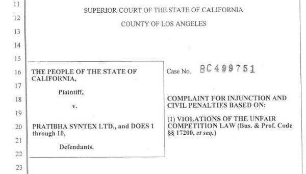 state of california lawsuit kamala harris 2