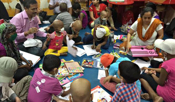 Tata Memorial Hospital Child Cancer Patients Education