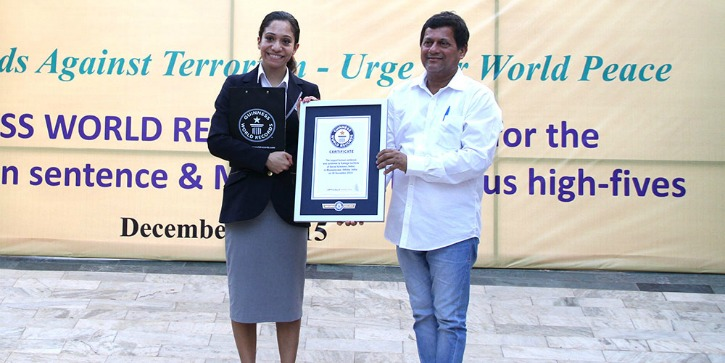These Students From An Odisha University Set Two Guinness World Records In One Day