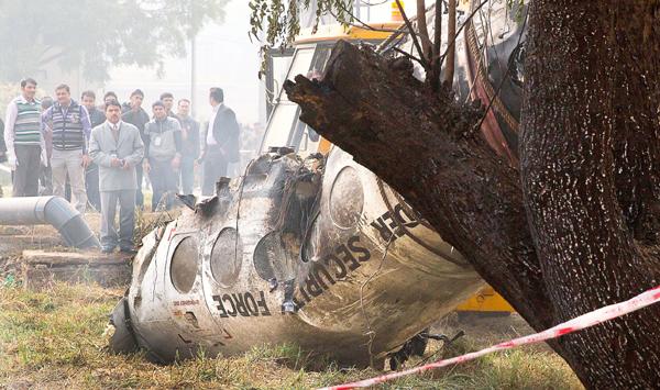 BSF aircraft crashes