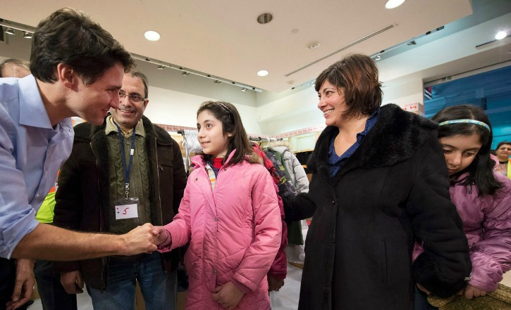 You Are Home, Says Canadian Prime Minister Justin Trudeau To Syrian Refugees