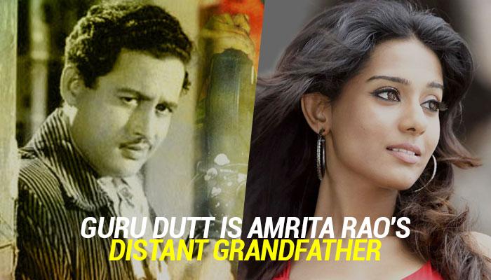 Amrita Rao-Guru Dutt