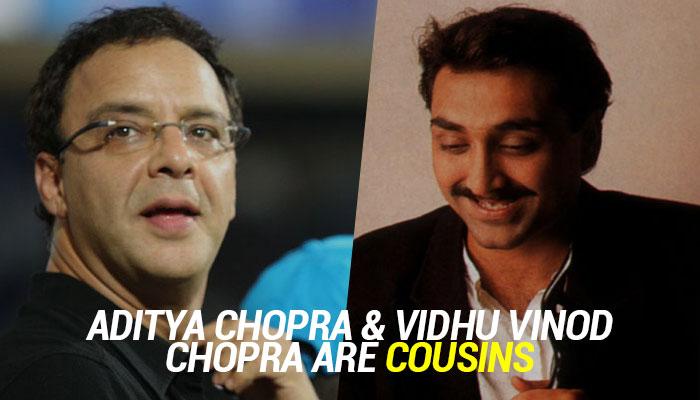 Vidhu Vinod-Aditya Chopra
