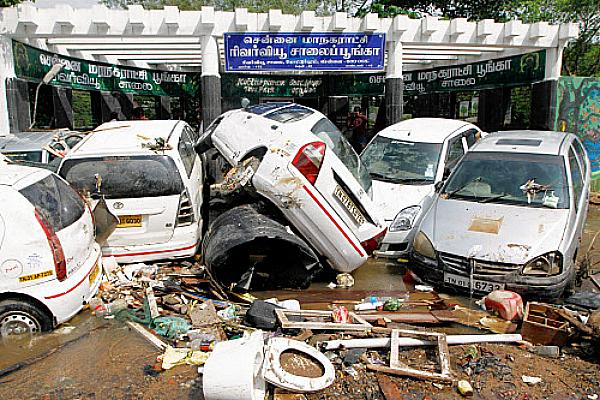 Cars chennai floods