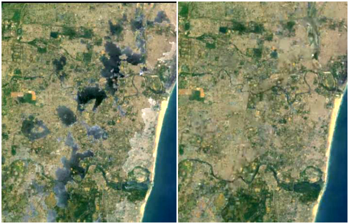 Destruction Of Lakes, Rivers And Flood Plains. Satellite Images Show How Chennai Brought Upon The Floods On Itself